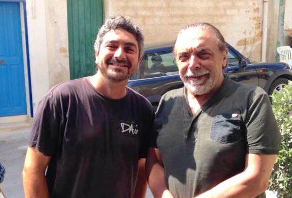 Nino Frassica oggi a Marinella di Selinunte – iniziate le riprese del film con Fabrizio Ferracane