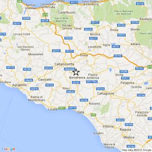 Terremoto Ml 1.7 il 06-05-2016 ore 02:34 in provincia Enna – Barrafranca