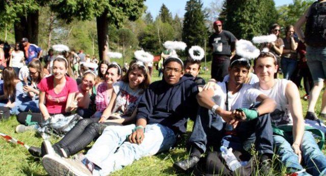 10.000 jeunes Franciliens arrivent pour le Frat