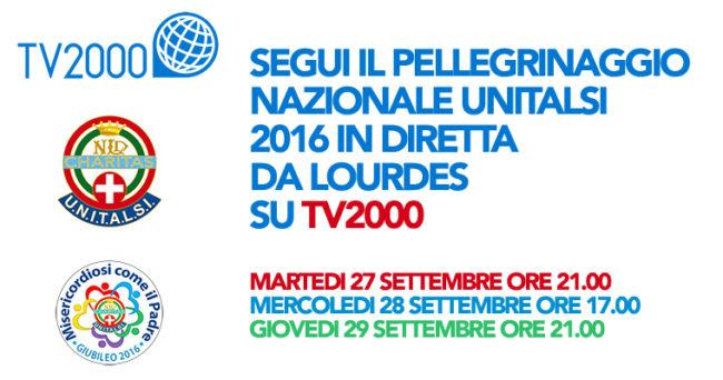 Nazionale Unitalsi in diretta su TV 2000