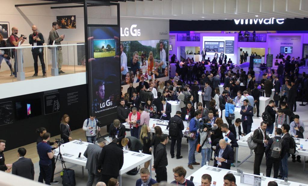 MWC 2017: Il tour virtuale dello stand LG