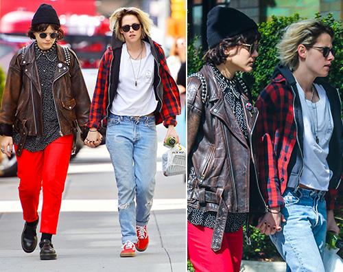 Kristen Stewart e SoKo mano nella mano a New York