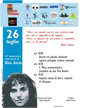 """Si ricorda oggi Rita Atria, la """"picciridda"""" di Paolo Borsellino"""