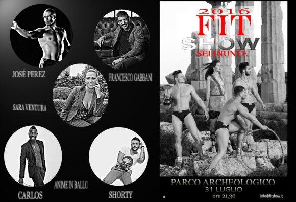 I grandi del fitness a SELINUNTE per il FIT SHOW 2016