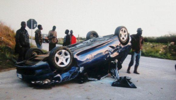 Incidente a Campobello. Coinvolto giovane di Castelvetrano