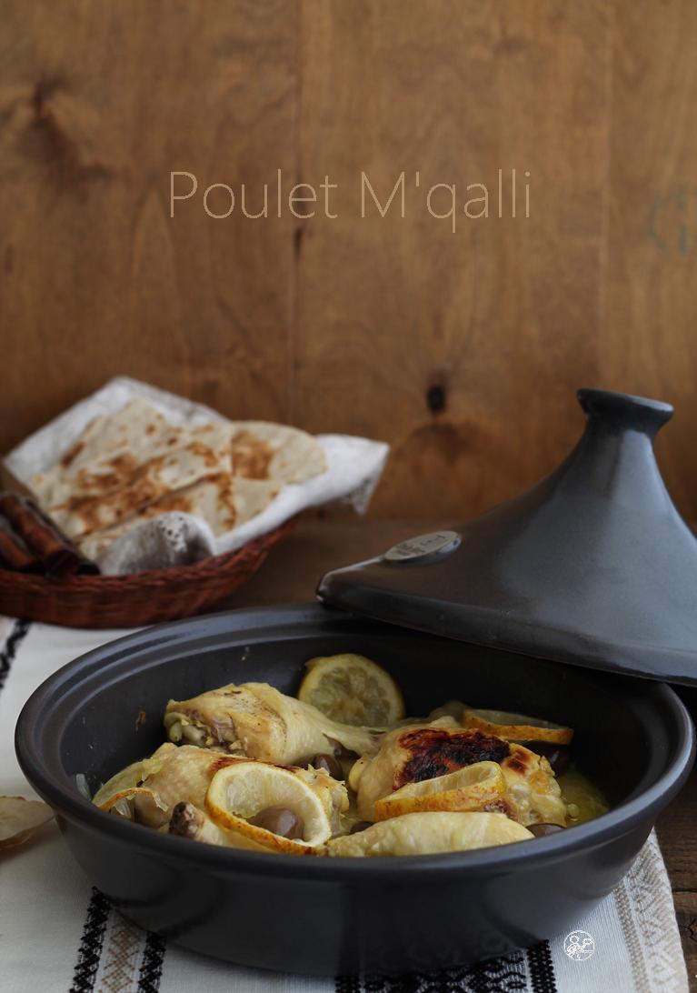 Poulet M'qalli sans gluten