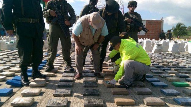 Sequestro record di cocaina in Colombia