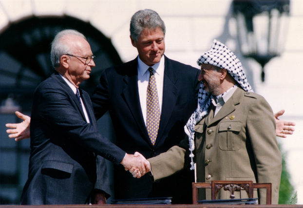 9 settembre 1993: Arafat riconosce il diritto all'esistenza di Israele