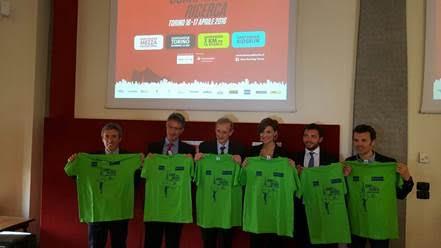 """Il 16 e 17 aprile a Torino si """"Corre per la Ricerca"""" della Fondazione Piemontese per la Ricerca sul..."""