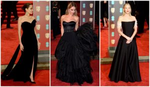 BAFTA 2018: red carpet in total black [VIDEO]