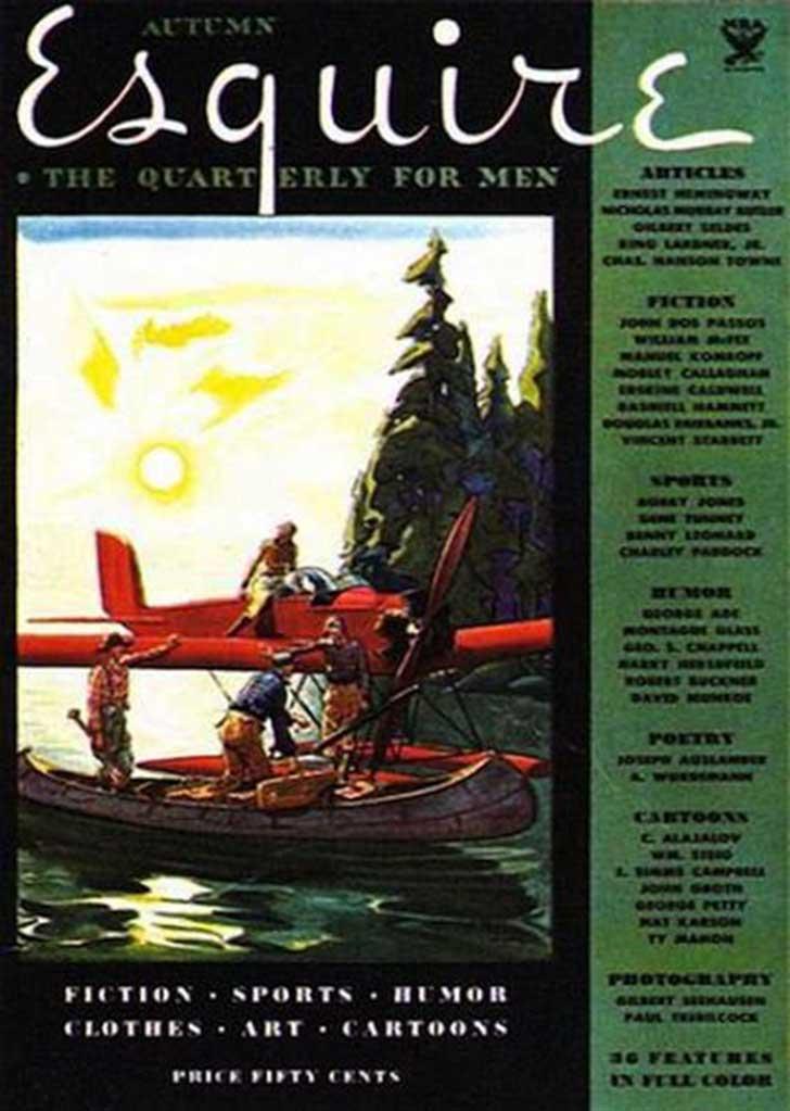 4 ottobre 1933: Viene pubblicato il primo numero di Esquire