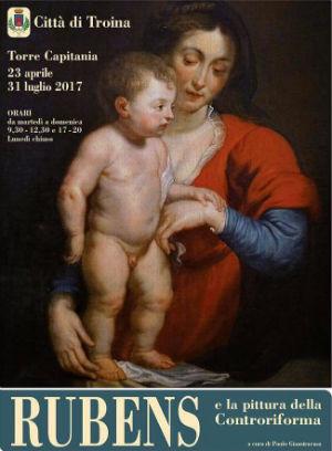"""In mostra a Troina """"Rubens e la pittura della Controriforma"""""""