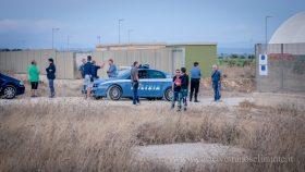 Protesta pacifica al deposito rifiuti di Castelvetrano – LE FOTO