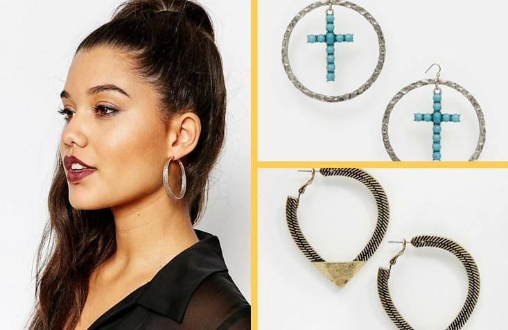 10 orecchini a cerchio da indossare per essere la regina dell'estate