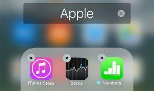 Come rimuovere le applicazioni preinstallate su iOS 10