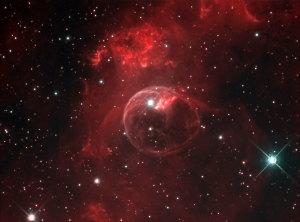 """Hubble fotografa una """"bolla di sapone"""" cosmica"""