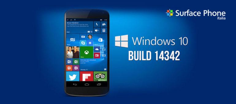 Windows 10 mobile: nuova build disponibile per gli insider | Surface Phone Italia