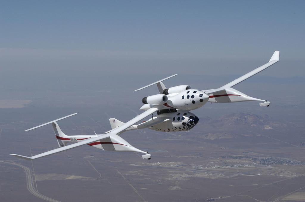 21 giugno 2004: Lo SpaceShipOne raggiunge lo spazio