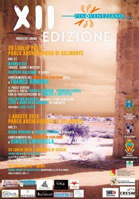 """Selinunte. Premio """"Pino Veneziano"""" per Arminio e Capossela"""