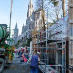 27/02/2017 Foto dei lavori a #Lourdes