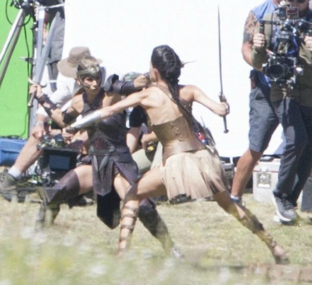Wonder Woman, prime foto dal set di Matera