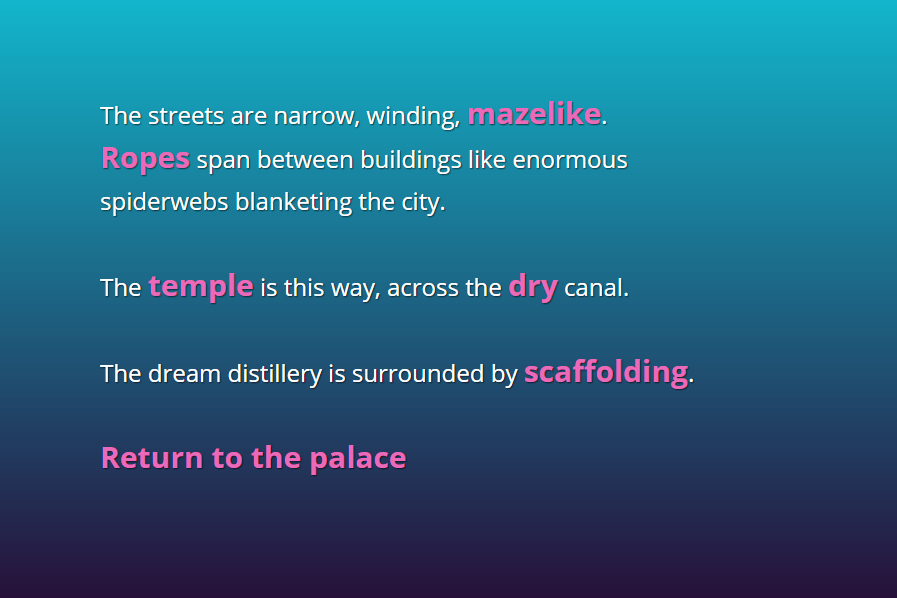 Scrivere narrativa interattiva: la formalizzazione dello spazio nel testo