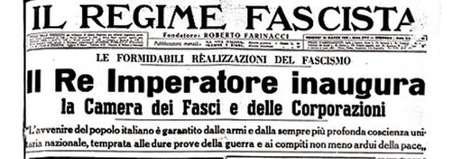 19 gennaio 1939: Viene istituita la Camera dei Fasci e delle Corporazioni