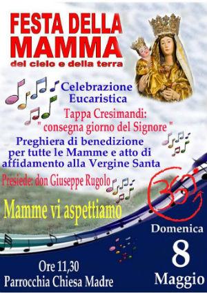 La benedizione delle Mamme