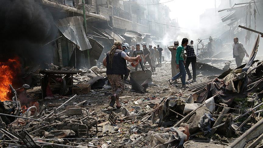 Siria: Attacchi aerei del regime siriano uccidono 33 persone nella provincia di Idlib » Guerre nel M