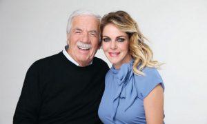 Claudia Gerini testimonial per Sandro Ferrone