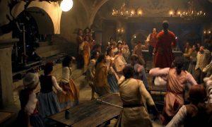 La Bella e la Bestia: ecco le foto di Gaston, Tockins e Lumière