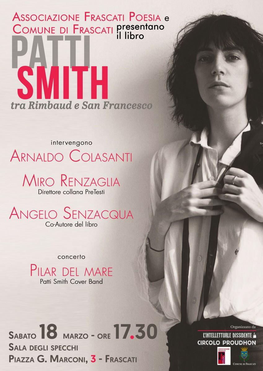 Patti Smith tra Rimbaud e S. Francesco, presentazione del libro a Frascati