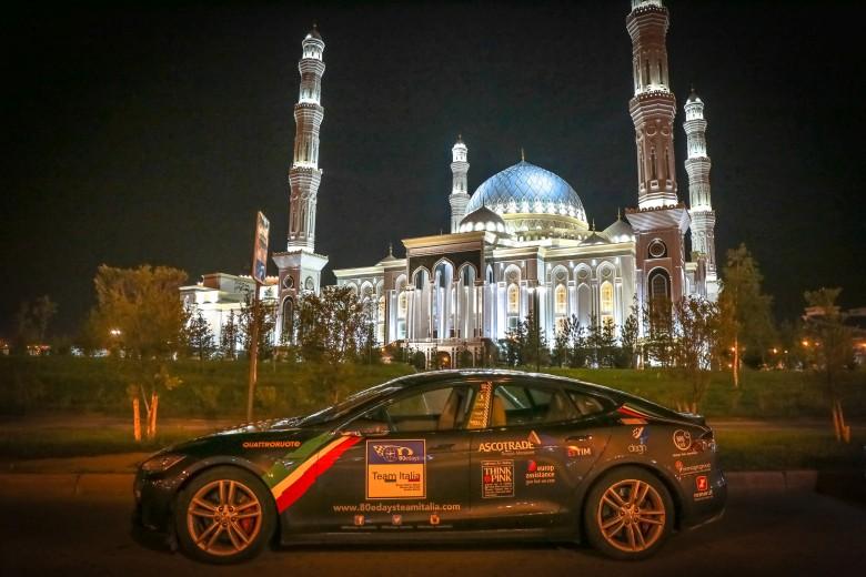 80eDays: il Team Italia affronta una delle tappe più difficili