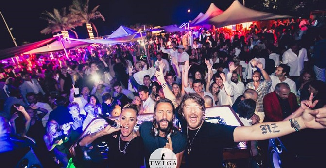 Bob Sinclar suona al Twiga Beach Club