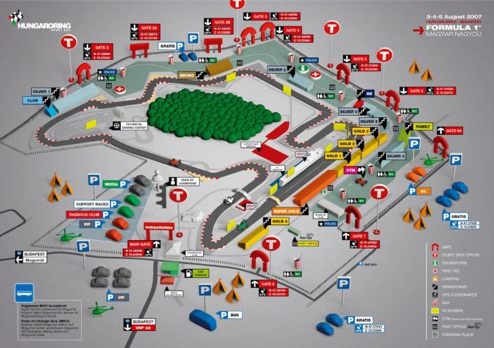 Nel fine settimana la Formula 1 sarà a Budapest nell'ultimo gran premio prima della pausa estiva