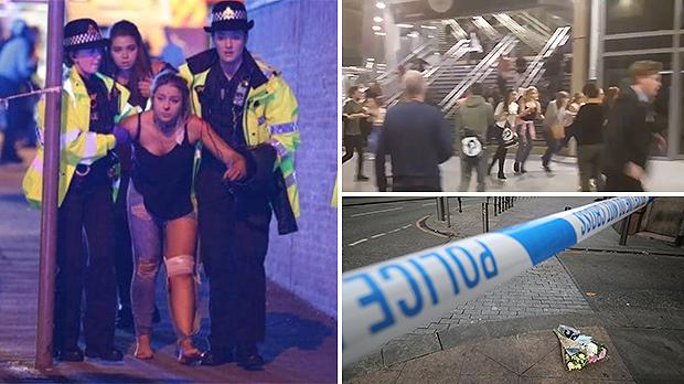 Regno Unito: Attacco terroristico al Manchester Arena ha ucciso 22 persone al concerto di Ariana Gra