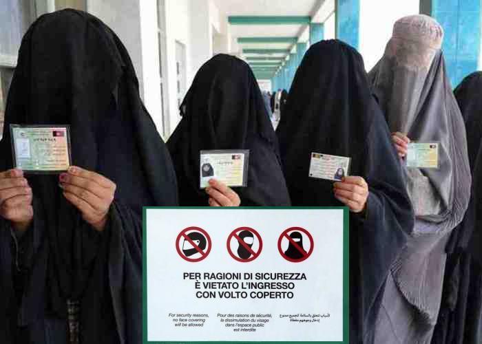 Parola d'ordine: vietare. In Liguria vietato l'accesso ad ospedali e luoghi pubblici per chi indossa il burqa