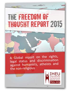 Rapporto 2016 sulla libertà di pensiero nel mondo.