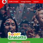 Vodafone Happy: 15€ di bonus per giocare gratis al Superenalotto