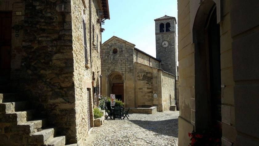 San Giorgio: il santo guerriero della chiesa di Vigoleno
