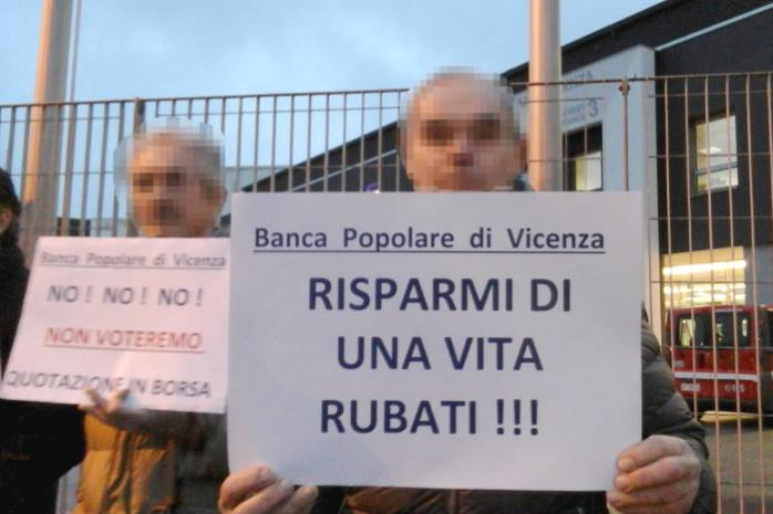 Nuovo disastro bancario in arrivo? Probabile bail in per Popolare di Vicenza e Veneto Banca