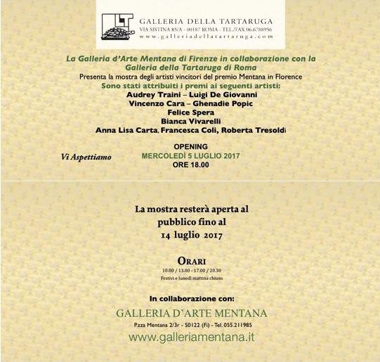 1* Premio ex aequo De Giovanni Luigi e Audrey Traini - De Giovanni Luigi pittore contemporaneo - Cre