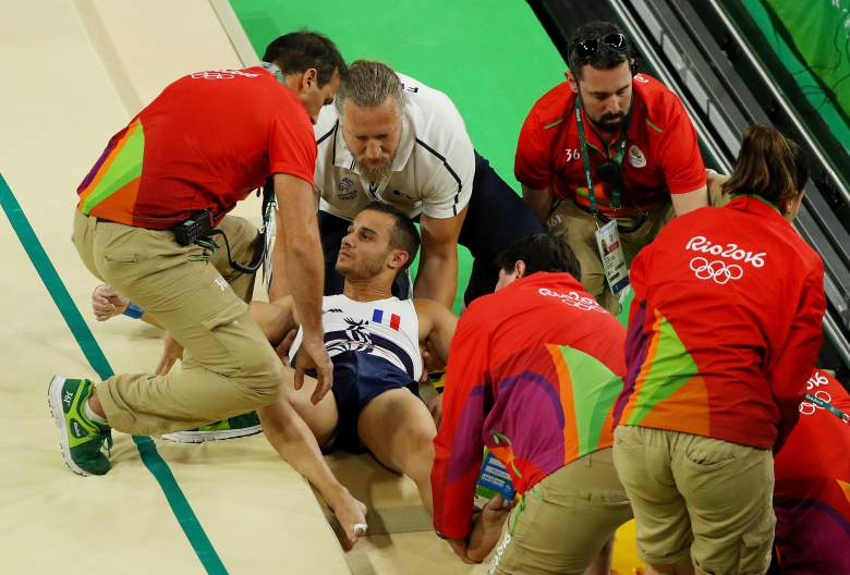 Frattura scomposta della tibia per Samir Ait Said, il ginnasta francese infortunatosi a Rio 2016
