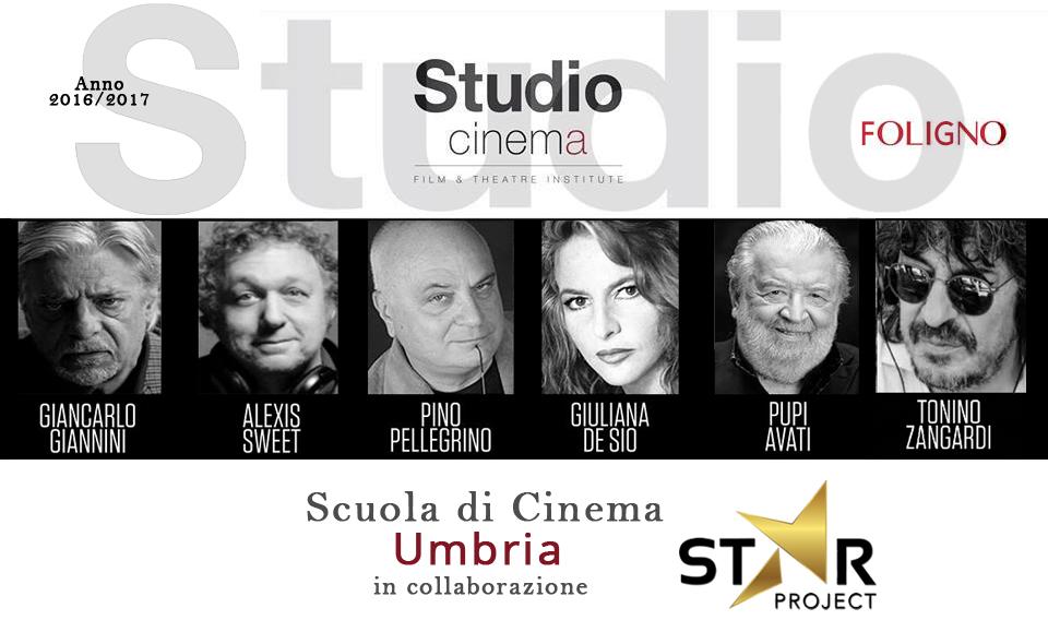 Scuola di Cinema Foligno con i grandi maestri del cinema italiano