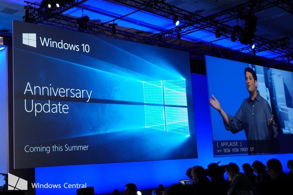 L'Anniversary Update di Windows 10 disponibile dal 2 agosto