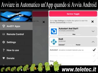 Come Eseguire un App in Automatico all Avvio di Android