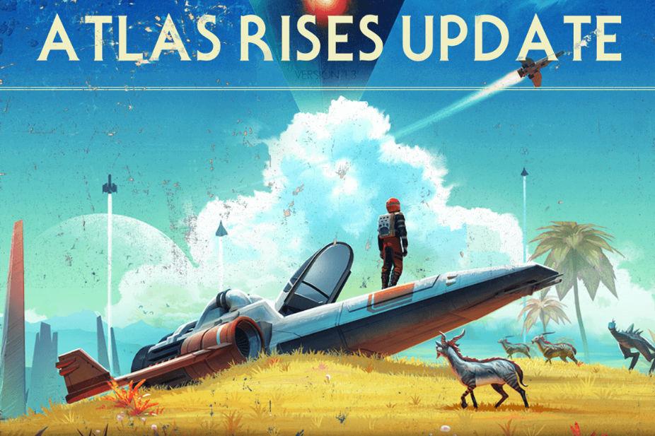 """No Man's Sky: l'update 1.3 """"Ascesa dell'Atlante"""" è online: trailer, immagini e primi dettagli"""