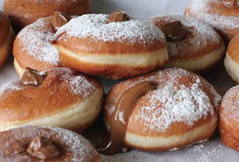 Pastry Blogger, la crema al cioccolato easy per le sufganiot di Hanukkà