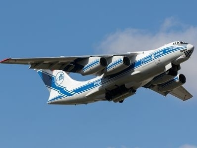 Volga-Dnepr's IL-76TD-90VD freighter delivers drilling machine to mining project in India | Air Cargo