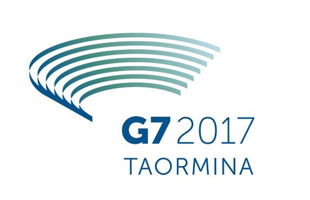 Matteo Renzi rivela il logo del G7 di Taormina del prossimo anno
